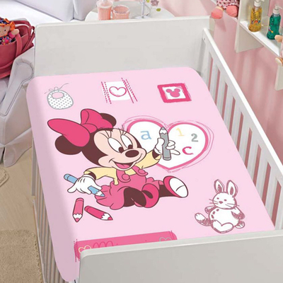 Manta Disney Baby Minnie - 100% Microfibra - Jolitex
